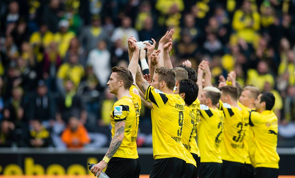 Dortmund 2-0 Frankfurt auba shinji