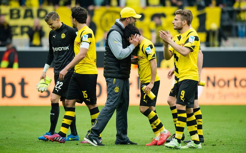 Dortmund 2-0 Frankfurt kagawa klopp