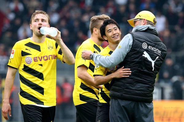 Dortmund 2-0 Frankfurt kagawa shinji klopp