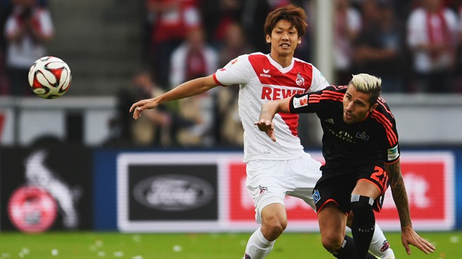 Cologne vs Bayer Leverkusen Osako