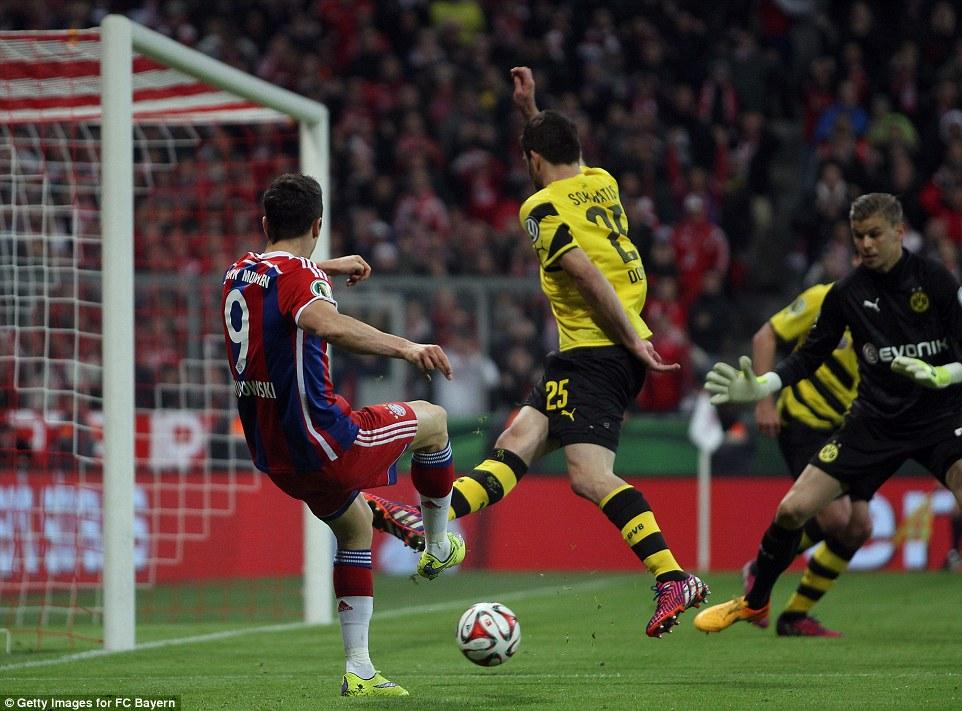 Lewandowski_Bayern 1-1 Dortmund