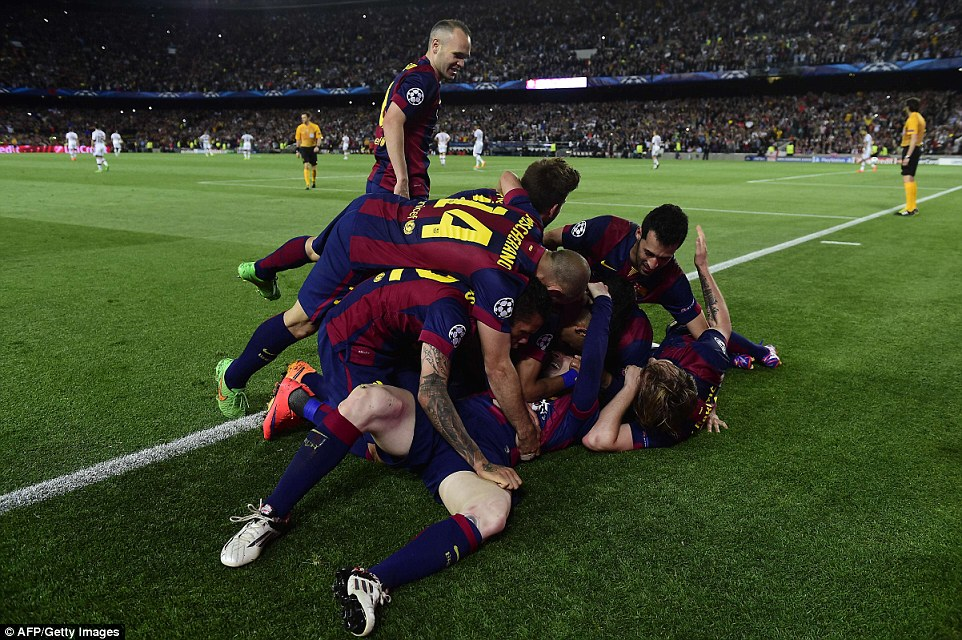 Barcelona 3-0 Bayern Munich Champions League semi-final