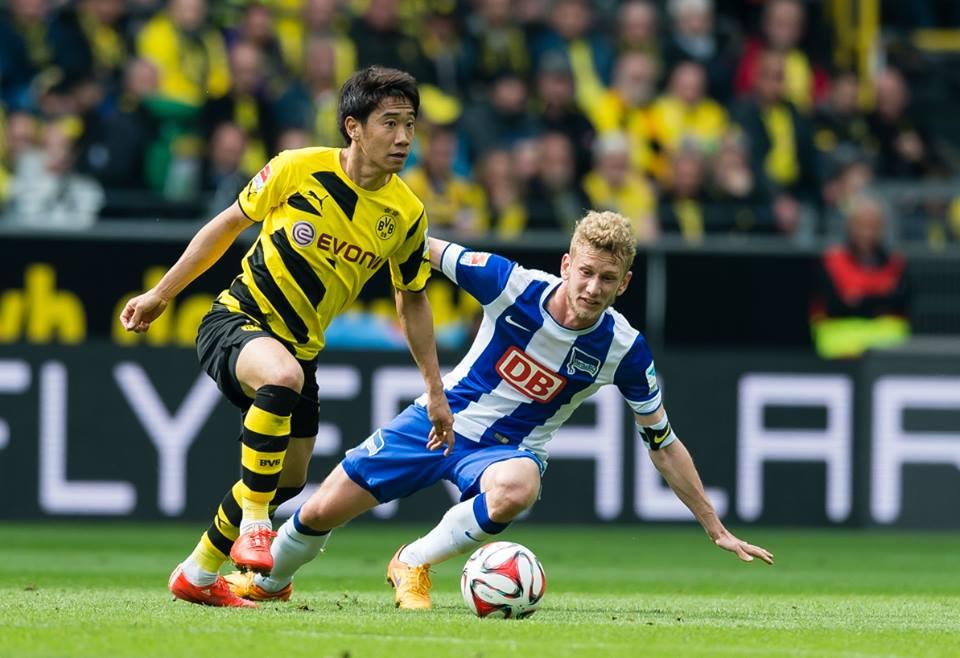 Borussia Dortmund - Hertha 2 0 kagawa