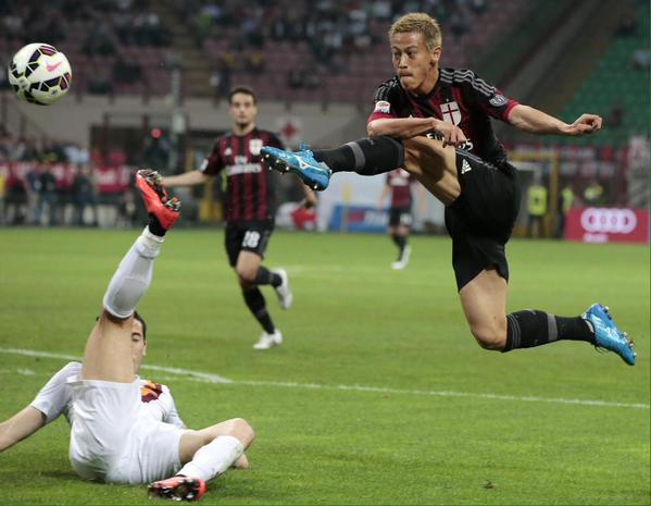 #‎MilanRoma‬ honda man of the match honda keisuke