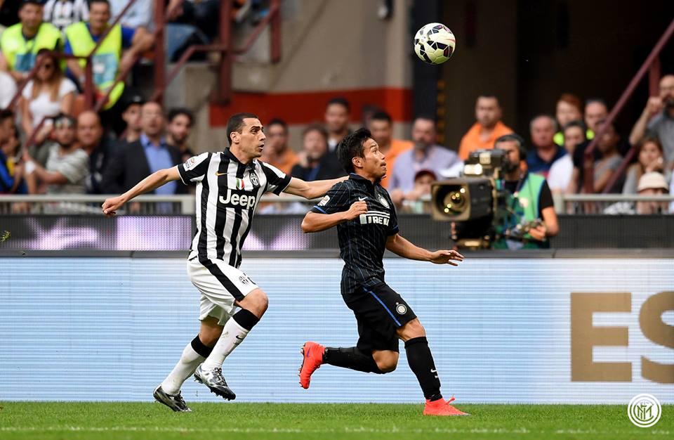 Inter-Juventus 1-2 nagatomo