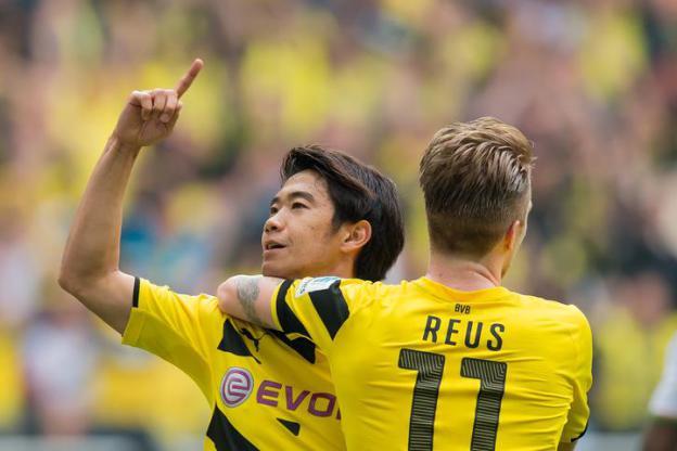 Kagawa glänzt in bärenstarker BVB-Offensive