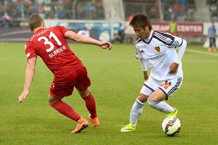 Thun und der FC Basel 2_2 kakitani youichiro