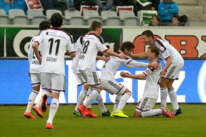 Thun und der FC Basel 2_2 kakitani goal