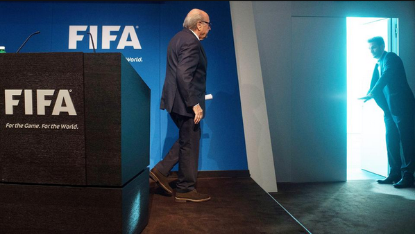 What a picture Sepp Blatter