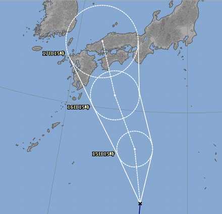 台風11号3