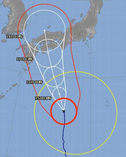 台風11号 15-2