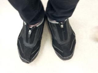仕事用靴6足目最後の日