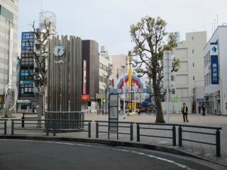 集合場所 大和駅三菱銀行前