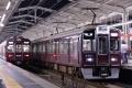 阪急9300系9301F&5300系5311F@茨木市駅(20150702)