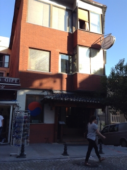 この建物全部がレストラン