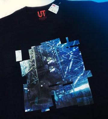 工場Tシャツ画像小