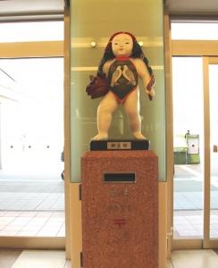 金沢駅郵太郎ポスト