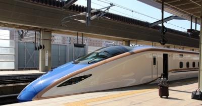 W7系W4編成長野駅にて