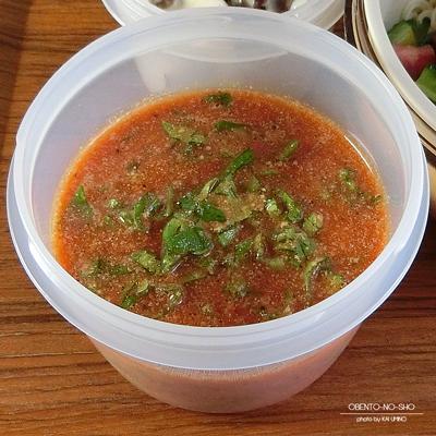 ゴーヤの野菜ジュース素麺弁当03