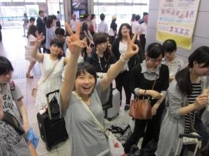 新大阪駅集合