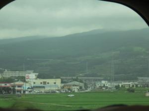 富士山雲の中1