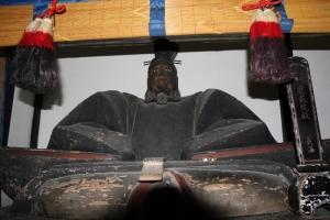 等持院木彫り2