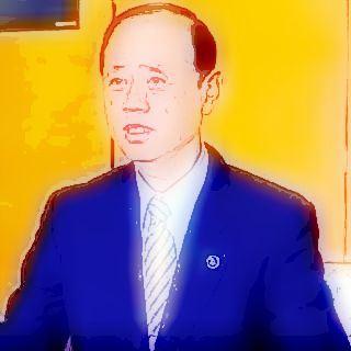 がんばれ 岡山市長 スケッチ