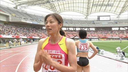 女子陸上選手2008