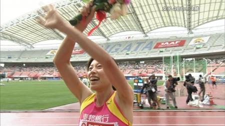女子陸上選手2009