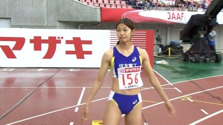 女子陸上選手2014