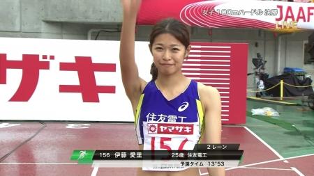 女子陸上選手2015