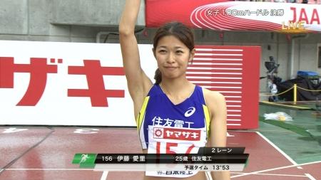 女子陸上選手2016