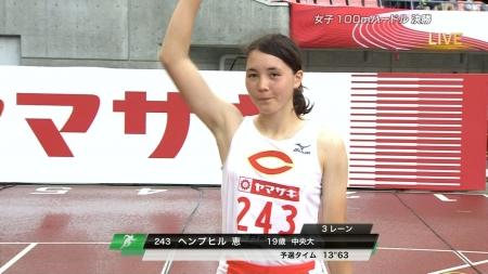 女子陸上選手2017