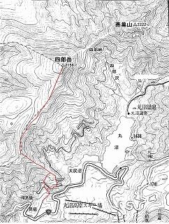 四郎岳概念図