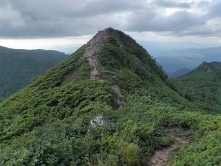 天狗岳山頂部
