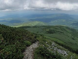箸別登山道
