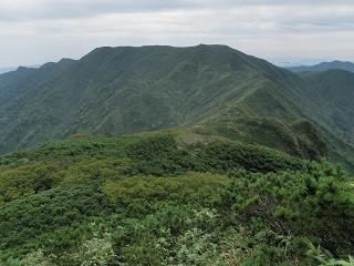 遊楽部岳(臼別岳から)