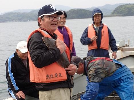 2015 ひと網 定置 報道 ヒラメ