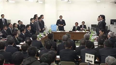 1月13日 法定協議会採決写真 news2393801_6