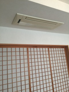 家庭用天井エアコン