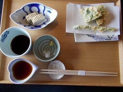 まずは天ぷら