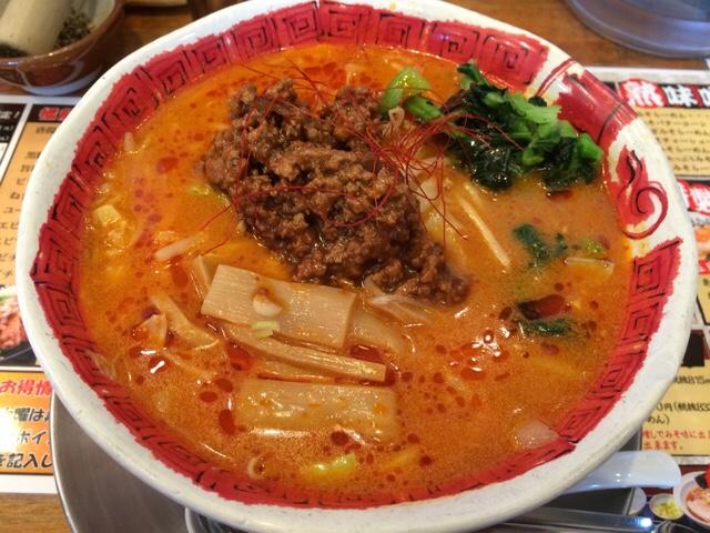 赤辛坦々麺