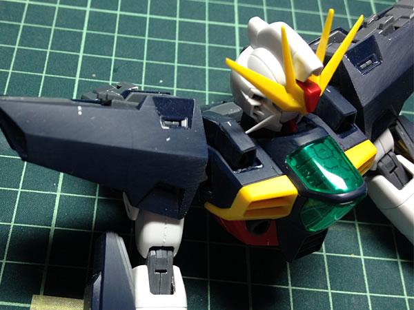 MG ガンダムDX 製作03