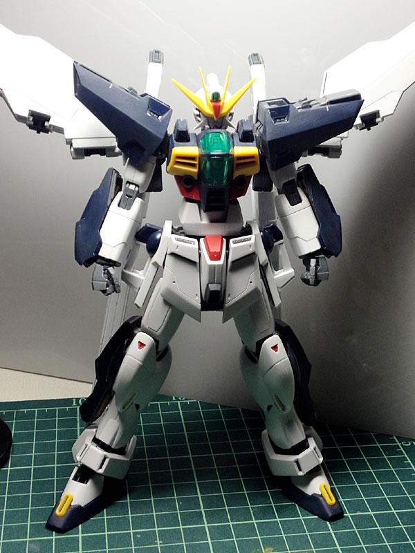 MG ガンダムDX 製作12