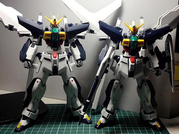 MG ガンダムDX 製作13
