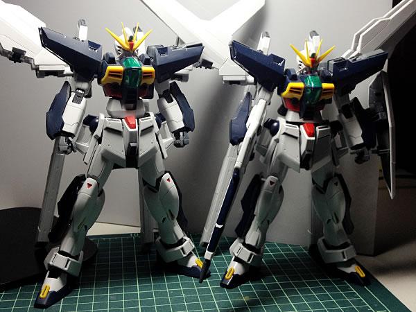 MG ガンダムDX 製作14