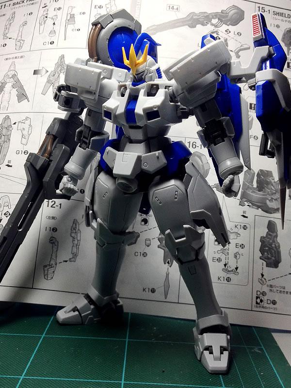 MG トールギスⅢ 制作01