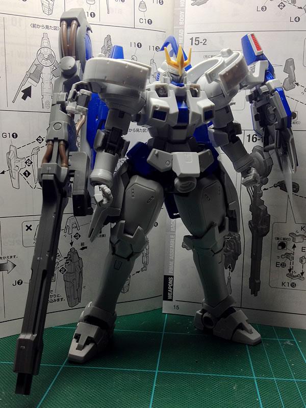 MG トールギスⅢ 制作02
