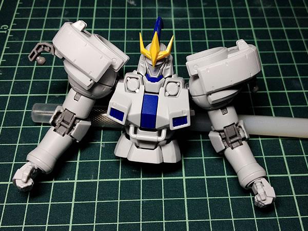 MG トールギスⅢ 制作03