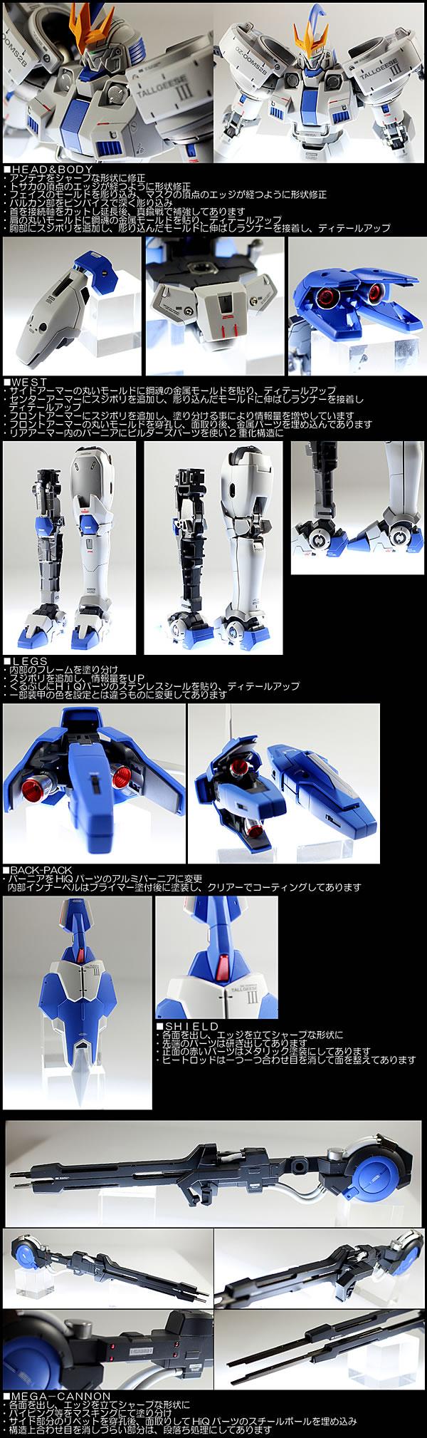 MG トールギスⅢ 制作14